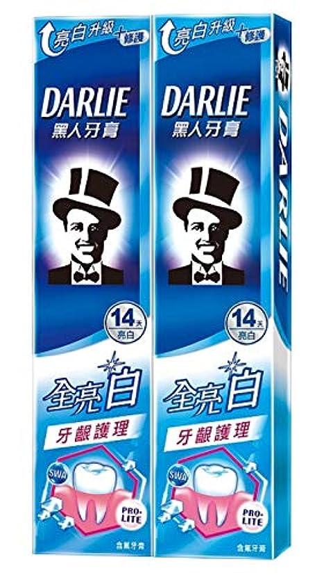 多分エコー宅配便黑人全亮白牙齦護理牙膏 歯茎ケア 歯磨き粉 140g×2個 [並行輸入品]
