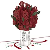 Lovepop Rose Bouquet Valentine's Day Pop Up Card