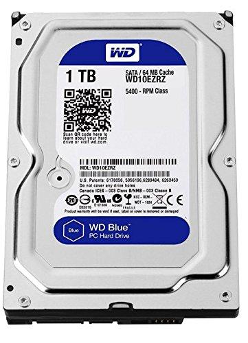 WD HDD 内蔵ハードディスク 3.5インチ 1TB WD Blue WD10EZRZ-RT SATA3.0 5400rpm 2年保証