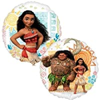 "(2) Moana 18"" Baby Shower Birthday Party Supplies Foil Mylar Helium Balloons Decorations Movie Double Sided [並行輸入品]"