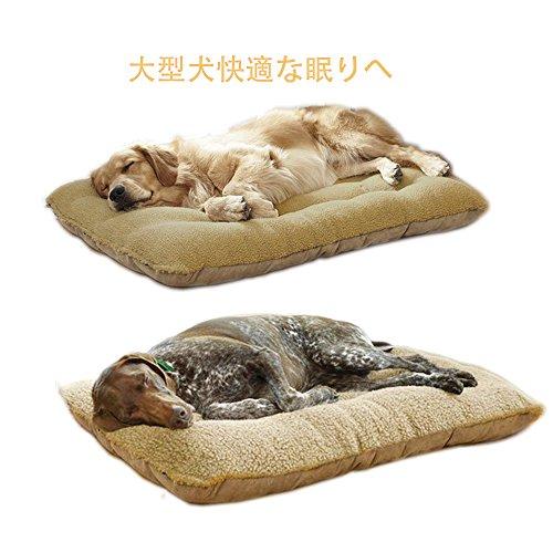 大型犬 中型犬 ペット ベッド クッション 秋冬 室内小屋 (M)