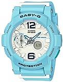 [カシオ] 腕時計 ベビージー ビーチカラーズ Gライド タイドグラフ BGA-180BE-2BJF ブルー