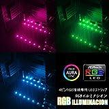 SCYTHE 4ピンRGB接続対応 LEDストリップ RGB ILLUMINACION
