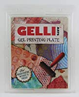 GEL PRINTING PLATE by Gelli Arts print amazing pictures to show off to your friends, 8x10 inches square [並行輸入品]