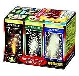 地上 噴出花火 噴出セットプレミアム(6P) 参考価格:1296円/6本入り1箱
