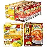 【Amazon.co.jp限定】 【セット商品】【簡単!具だくさんスープ】デルモンテ クリームコーン&ミネストローネ アソートセット(12個入り)