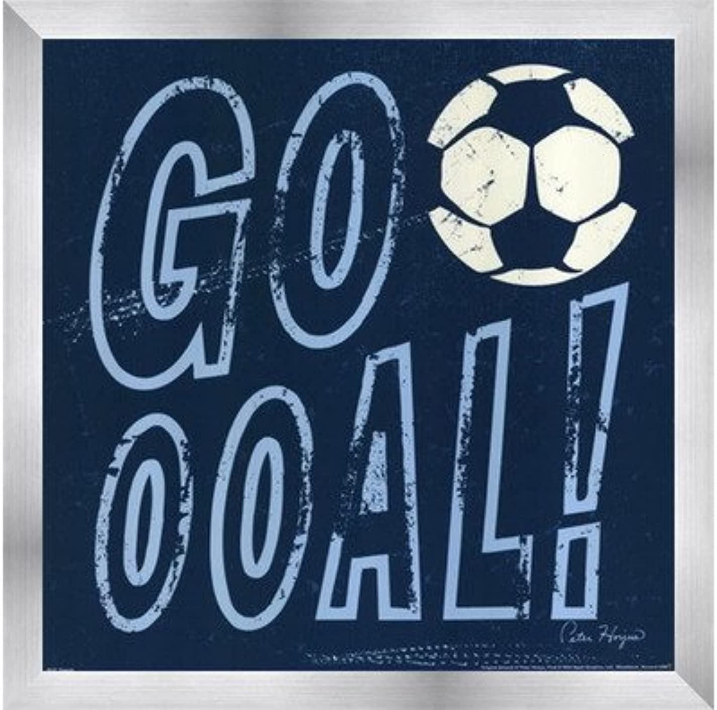 Goooal 。By Peter Horjus – 12 x 12インチ – アートプリントポスター 12  x 12  Inch LE_669863-F9935-12x12