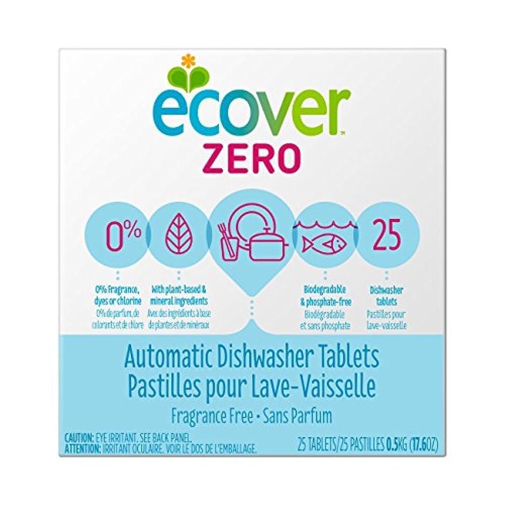 煙透ける細心の海外直送品Zero Automatic Dishwasher Tablets, 17.6 OZ by Ecover