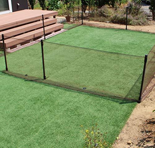 DAIMオリジナル ドッグラン 高さ90cm お庭を囲むことができるロングサイズです。 愛犬のドッグランはもちろん、小動物の侵入防止にも使える! (本体)