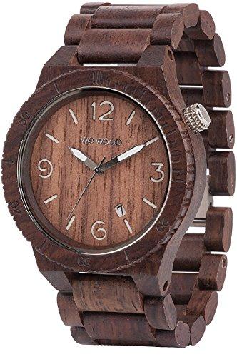 [ウィウッド]WEWOOD 腕時計 ウッド/木製 ALPHA CHOCOLATE カレンダー 9818022 メンズ 【正規輸入品】