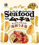 湖池屋 シーフードムーチョ海鮮うま塩 55g ×12袋