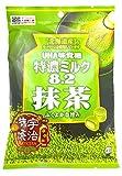 味覚糖   特濃ミルク8.2抹茶  84G×6袋