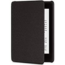 All-New Kindle Paperwhite Leather Cover (10th Generation-2018) - Black