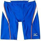 MIZUNO(ミズノ) 競泳水着 メンズ ストリームアクティバ ハーフスパッツ FINA承認 N2MB6040 ブルー×ホワイト L