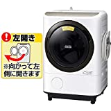 日立 【左開き】12.0kgドラム式洗濯乾燥機 ビッグドラム ホワイト BD-NV120FL W