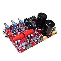 KESOTO LM3886 NE5532 デュアルチャンネルアンプボード オーディオ パワーアンプボード プリアンプ 68W + 68W