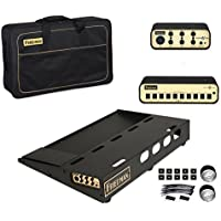 Friedman Amplification Tour Pro 1525 Platinum Pack 15 x 25 Pedal Board with Riser Professional Carrying Bag Power Grid 10 & Buffer Bay 6 [並行輸入品]