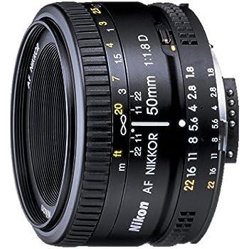 Nikon 単焦点レンズ Ai AF Nikkor 50mm F1.8D フルサイズ対応