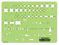 Rapidesign Power and Light Template 1 Each (R62) [並行輸入品]