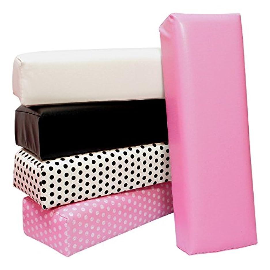 に慣れ未知の持ってるアームレスト ネイル用 手の枕ピンク ネイルアート ハンドピロー ジェルネイルまくら 練習用にも