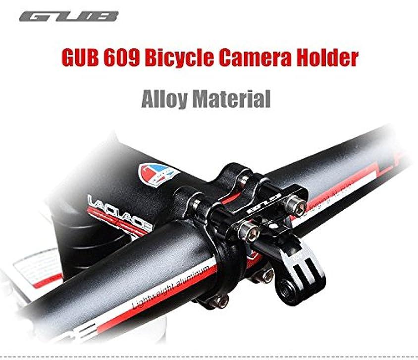 慈善野なスーパーGUB 609 Sport Bicycle Camera Holder MTB Road Bike Handlebar Extender CNC Aluminum Alloy Flashlight Stand Gopro Camera Mount