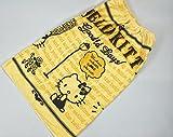ラップタオル ディズニー サンリオ ジブリ 80cm丈:約80×120cm 巻タオル ラップドレス ドレスタオル お風呂上がりやプール・スイミングに (04.ハローキティ) (01.キティ×Yellow)3