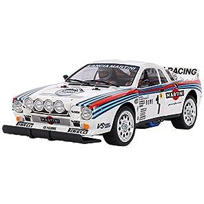 タミヤ 1/10 電動RCカーシリーズ No.654 ランチア 037 ラリー TA02-Sシャーシ 58654