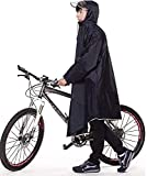 Alupper ポンチョ レインコート 雨具 自転車 バイク用 ロング 男女兼用 レディースメンズ用 通勤通学 フリーサイズ 軽量 完全防水 収納袋付き 画像