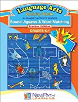 NewPath Learning Alphabet Activity Series Sound Jigsaws and Word Matching Reproducible Workbook Grade K-1 [並行輸入品]