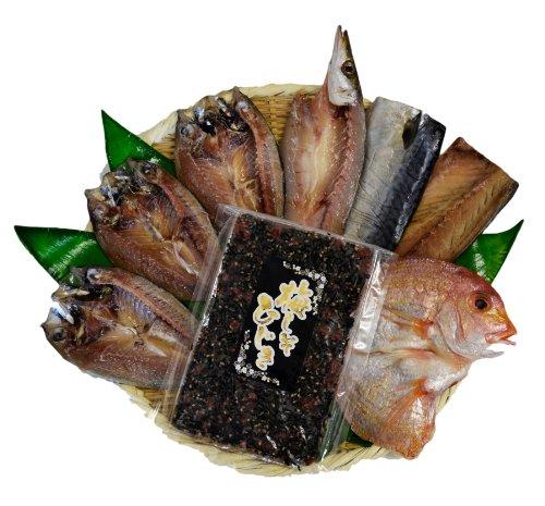 博多志賀島かつやま手造り干物セット(金印A)