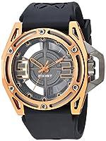 2(X) ist Watches–NYCコレクション–ガンメタル/Rust Watch