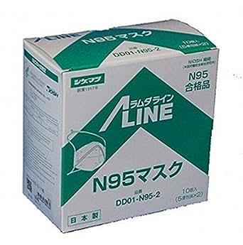 使い捨て防塵マスクDD01-N95-2