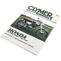 クライマー Clymer マニュアル 整備書 65年-78年 ホンダ 125cc/200cc TWINS 700321 M321