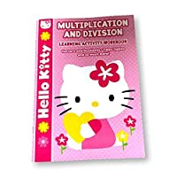 Hello Kitty Multiplication and Division Math Learning Activity Workbook by Bendon [並行輸入品]