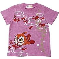 120cmサイズあり【本体綿100%】2018年 夏物 アンパンマン 天竺 和柄プリント 半袖Tシャツ