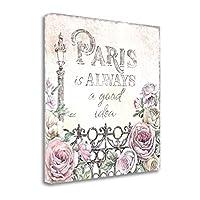 """""""パリバラIV """" by Beth Grove、アートジークレーギャラリーラップキャンバスの印刷、ハングする準備"""