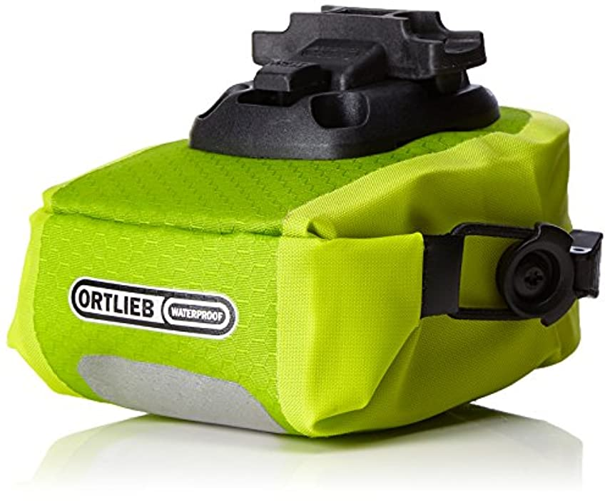 シュガー暗唱する波ORTLIEB(オルトリーブ) サドルバッグ マイクロ (Saddlebag Micro) ライトグリーン/ライム 0.6L F9652