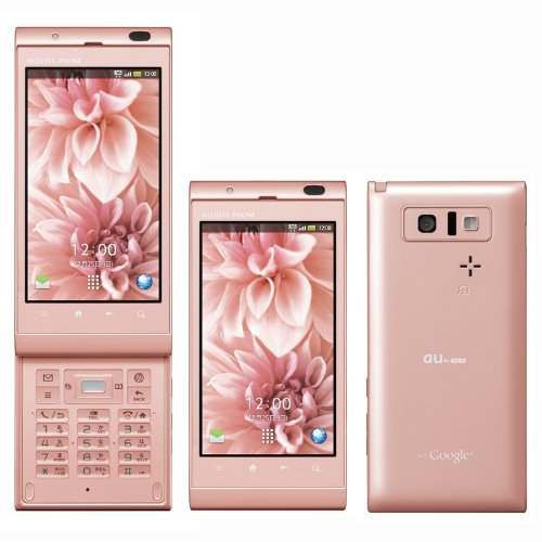 au IS14SH AQUOS PHONE ピンク