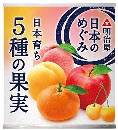 明治屋 日本のめぐみ 日本育ち 5種の果実(215g)