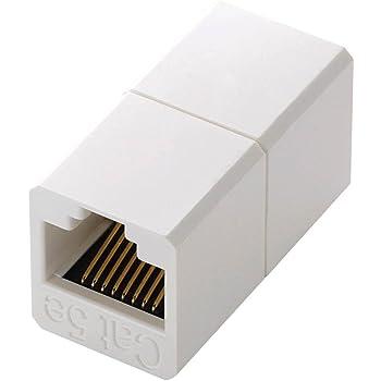 エレコム コンパクトRJ45延長コネクタ LD-RJ45JJ5Y2