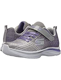 [SKECHERS(スケッチャーズ)] キッズスニーカー?靴 Double Dreams 81407L (Little Kid/Big Kid) Grey/Lavendar 5 Big Kid (23cm) M