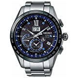 [アストロン]ASTRON 腕時計 ASTRON GPSソーラー 5周年記念限定 BIG-DATE チタンモデル ブルーサファイア入りダイヤル SBXB145 メンズ