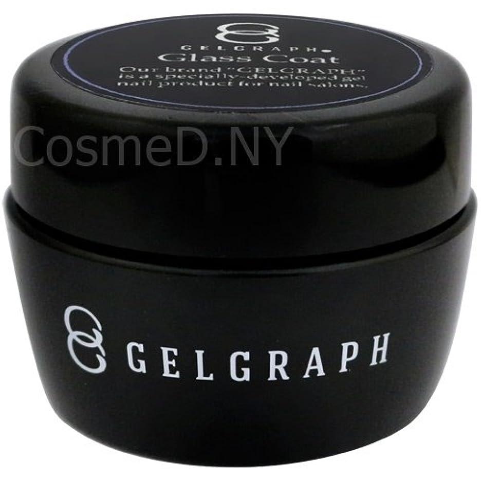 矛盾するきちんとした理容師GELGRAPH グラスコート 50g 【ジェル/クリアジエル・ネイル用品】