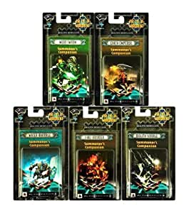 The Eye of Judgment: Biolith Rebellion Set #1 Complete Deck Set of 5 Decks
