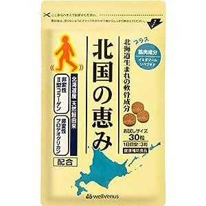 非変性プロテオグリカン配合 [お試し]北国の恵み(30粒 約10日分) お得な3袋セットも有
