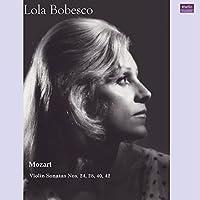 モーツァルト : 未発表ヴァイオリン・ソナタ集 (Mozart : Violin sonatas No.24, 28, 40, 42 / Lora Bobesco) [2LP] [Live Recording] [Limited Edition] [日本語帯・解説付] [Analog]