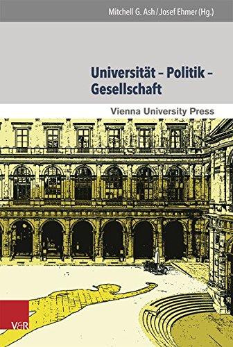 Download Universitat - Politik - Gesellschaft - Wirtschaft (650 Jahre Universitat Wien - Aufbruch ins neue Jahrhundert) 3847104136