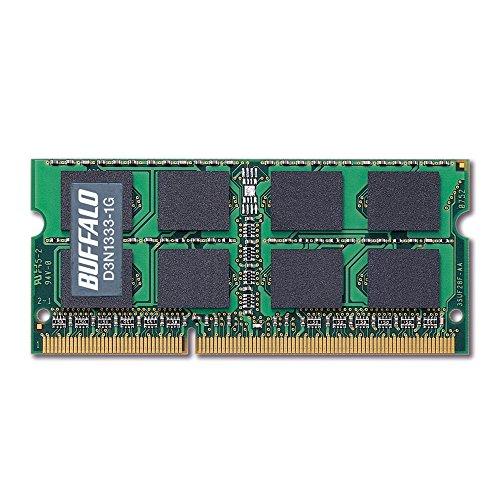 D3N1333-2G PC3ー10600(DDR3ー1333)対応 DD R3 SDRAM 204Pin用 S.O.DIMM 2GB