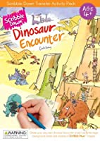 Scribble Down Dinosaur Encounter Transfer Activity Packs by Scribble Down
