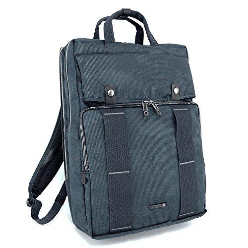 (エースジーン) ACE GENE リュック型ビジネスバッグ/ブリーフケース/ビジネスリュック CROSS TIDE クロスタイド カモフラージュ ジャカード 限定モデル 54245 (ネイビー(03))